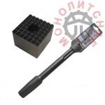 Бучарда для перфоратора SDS-MAX без хвостовика 60х60 мм 49 зубов
