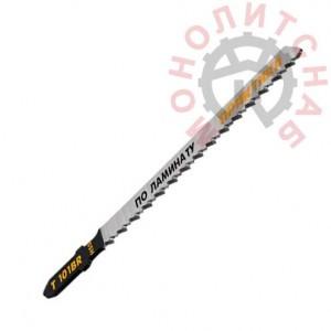 Пилки для лобзика по ламинату, дереву, ДСП ПРАКТИКА тип T101B 100 х 75 мм, чистый рез (2 шт.)