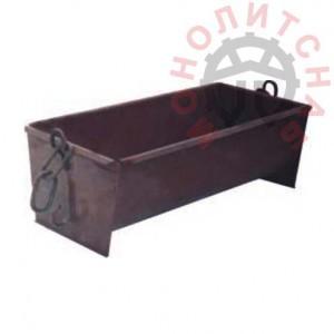 Ящик каменщика ЯР-1 0,25 м3 с цепями